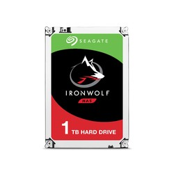 "DISQUE DUR NAS Seagate IronWolf 1To 3.5"" 5900 RPM 64 Mo Serial ATA 6 Gb/s pour NAS (bulk)"