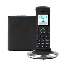 TELEPHONE SKYPE BASE - RTX Dualphone 4088 Skype cordless phone - Black