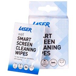 PRODUIT DE NETTOYAGE LINGETTE Laser Clean Range Smart Screen Wipes 10 pack