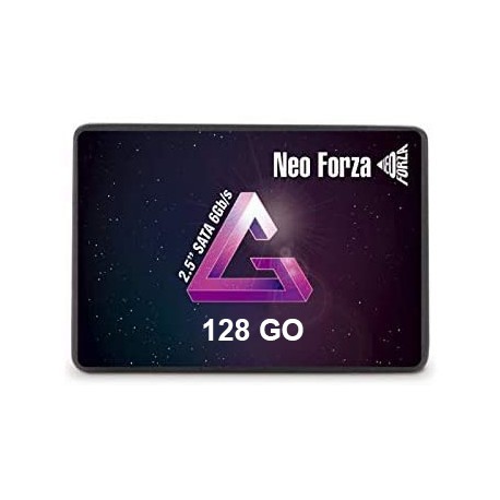 "DISQUE DUR SSD FORZA 128Gb 2.5"" SATA 6GB/s SMI 2258XT 3D TCL"
