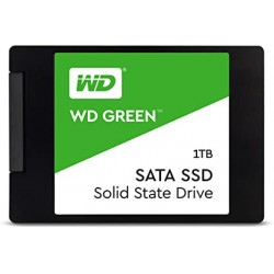 DISQUE DUR SSD WD Green 1TB Internal PC SSD - SATA III 6 Gb/s, 2.5 Inch /7mm