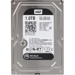 "DISQUE DUR WD 1TB Black 3.5"" Sata 6GB/s 64MB 7200rpm HDD"