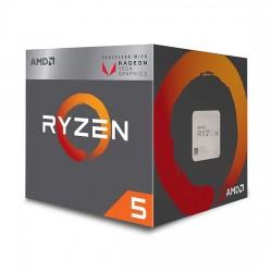 PROCESSEUR AMD Ryzen 5 2400G - Quad-core (4 cœurs) 3,60 GHz - Socket AM4