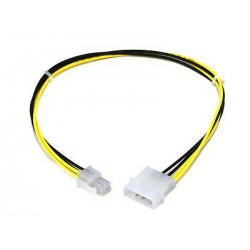 CABLE ALIM MOLEX VERS 4 PIN - MOLEXE TO P4 CPU