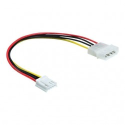 ADAPTATEUR MOLEX TO 3 PIN FAN - 1 MOLEX 4P VERS 1 ATX FAN 3P