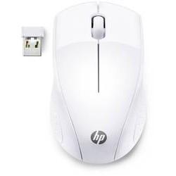 SOURIS Optique HP 220 USB 3 Boutons Blanc Sans fil 2,40 GHz 1300 dpi 7KX12AA