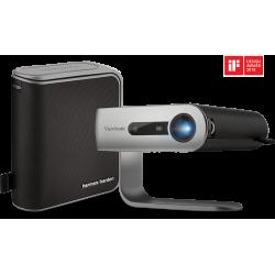 VDP VIEWSONIC 1M+ WVGA 300 L Portable LED WiFi Bluetooth Harman Kardon