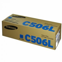 TONER SAMSUNG CLT-C506L/SEE for CLP-680/CLX-6260 Series LBP & MFP - Cyan 3,500 pages ***