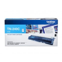 BROTHER TN-240C  TONER CYAN 1400PAGES