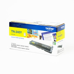BROTHER TN-240Y TONER YELLOW 1400PAGES