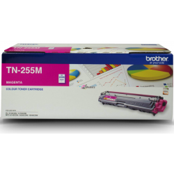 BROTHER TN-255 Magenta Toner Cartridge - 2,200 pages ***