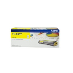 BROTHER TN-255 Yellow Toner Cartridge - 2,200 pages ***