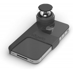KOGETO PITCH BLACK DOT ICONIC CAMERA LENS POUR IPHONE 4/4S