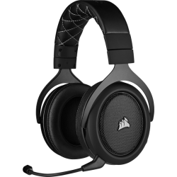 MICRO CASQUE CORSAIR GAMING HS70 PRO WIRELESS CARBON WIRELESS
