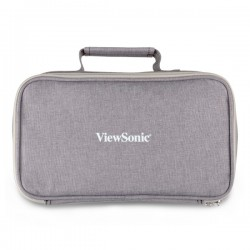 ETUI VDP ViewSonic PJ-CASE-010 Zipped Soft Padded Carrying Case for M1 Projector Gray