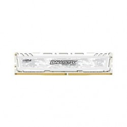 MEMOIRE BALLISTIX SPORT LT 16 GO (2 X 8 GO) DDR4 3000 MHZ CL16 SR UDIMM BLANC