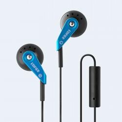 ECOUTEURS Edifier P185 Headphones Hi-Fi Classic Earbud Style Earphones with Microphone - BLEU