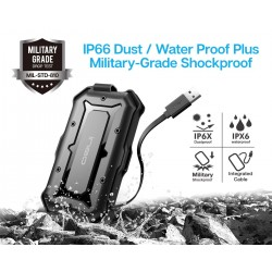 """BOITIER EXTERNE ineo 2.5"""" USB 3.0 Rugged Waterproof & Shockproof IP66 Enclosure for 2.5 inch 9.5mm & 7mm SATA HDD SSD"""