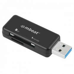 LECTEUR DE CARTE mbeat® Ultra Dual USB Reader