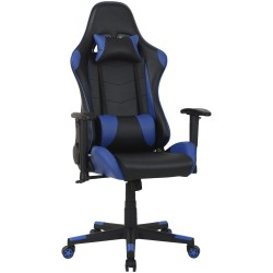 FAUTEUIL TYPHOON GAMING HIGH BLACK/BLUE