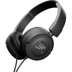 CASQUE JBL T450 ON-EAR HEADPHONES - BLACK supra-auriculaire fermé avec télécommande et microphone