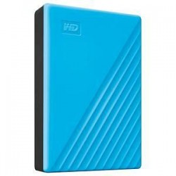 DISQUE DUR EXTERNE WD MY PASSPORT 4To BLEU