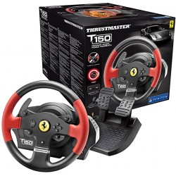 Volant+Pédalier THRUSTMASTER T150 FERRARI WHEEL rs ps4/ps3 compatible PC