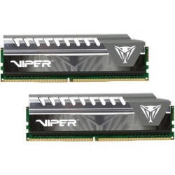 MEMOIRE Patriot Performance Viper Elite DDR4 16GB (2X8GB)  UDIMM PC3-17000  2133MHZ PVE416G213C4KGY Gray