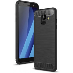 COQUE GALAXY A6S FIBRE DE CARBONE DOUCE