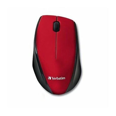 SOURIS Verbatim MultiTrac Red Mouse