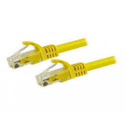 CABLE RJ45 HYPERTEC CAT6A YELLOW 5M