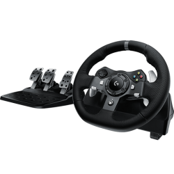 VOLANT+PEDALIER LOGITECH G920 DRIVING FORCE RACING WHEEL