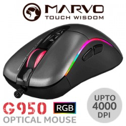 SOURIS MARVO G950 GAMING MOUSE 4000dpi
