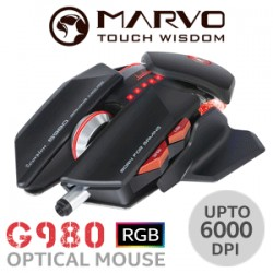 SOURIS MARVO G980 RGB GAMING MOUSE