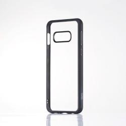 Coque WE contour mat- Galaxy S10e Protection dos transparente Contour noir