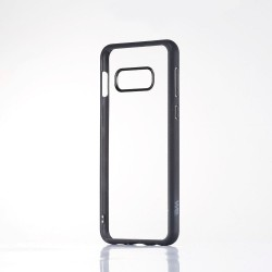 Coque WE contour mat- Galaxy S10+ Protection dos transparente Contour noir