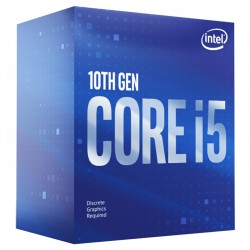 PROCESSEUR i5-10400F (2.9 GHz / 4.3 GHz) 6-Core 12-Threads Socket 1200 Cache L3 12 Mo 0.014µ
