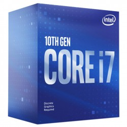 PROCESSEUR Intel Core i7-10700F (2.9 GHz / 4.8 GHz) 8-Core 16-Threads Socket 1200 Cache L3 16 Mo 0.014µ