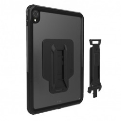 COQUE ARMOR-X MXS-A10S TABLETTE APPLE IPAD 10.2 7TH GEN 2019 IP68 WATERPROOF CASE WITH HAND STRAP & KICKSTAND & X-MOUNT