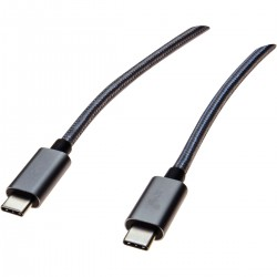 CABLE USB ORICO USB-TYPE C VERS USB-TYPE C MALE/MALE 1M CCU-10-GY-BP