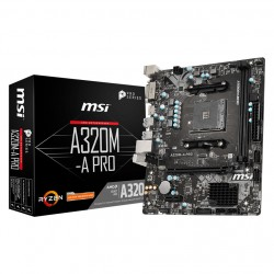 CARTE MERE MSI A320M-A PRO Micro ATX Socket AM4 AMD A320