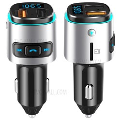CAR AUTO FM Transmitter Bluetooth BC41 Wireless QC 3.0 Quick Charger Dual USB Handsfree Audio MP3 Player U Disk TF Card Reader