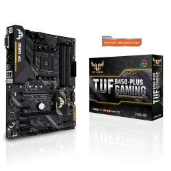 CARTE MERE ASUS TUF B450-PLUS GAMING ATX Socket AM4 AMD B450