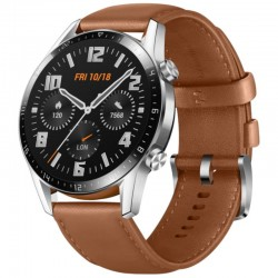 MONTRE CONNECTEE HUAWEI WATCH GT 2 CLASSIC 46MM PEBBLE BROWN 320080