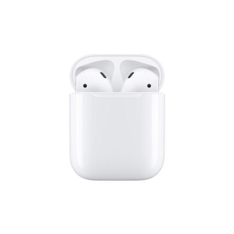 ECOUTEUR Apple AirPods 2 (2019) Blanc AVEC Boîtier de charge Lightning filaire