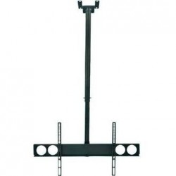 MH Universal Flat-Panel TV Ceiling Mount, 100 to 150 cm, Black