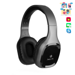 CASQUE NGS BLUETOOTH HEADPHONE ARTICA SLOTH GRAY
