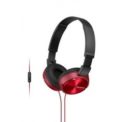 CASQUE SONY MDR-ZX310AP SUPRA-AURICULAIRE ROUGE