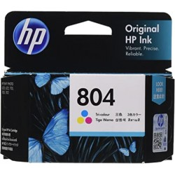 CARTOUCHE HP 804 COULEUR INK CARTRIDGE **165 PAGES