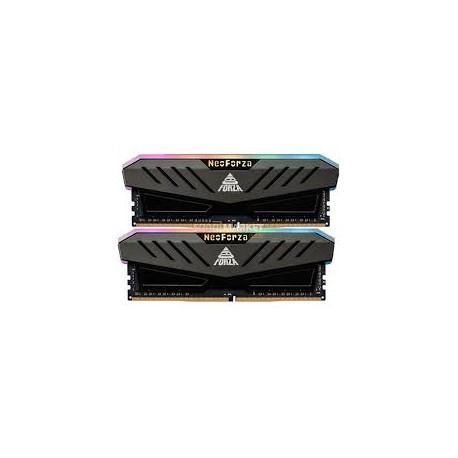MEMOIRE FORZA GAMER MARS RGB GRAY DDR4 32GB KIT (2*16GB) 3200Mhz UDIMM